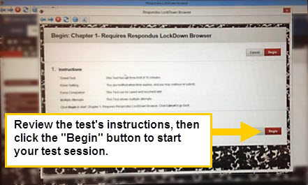 Tests & Exam Instructions