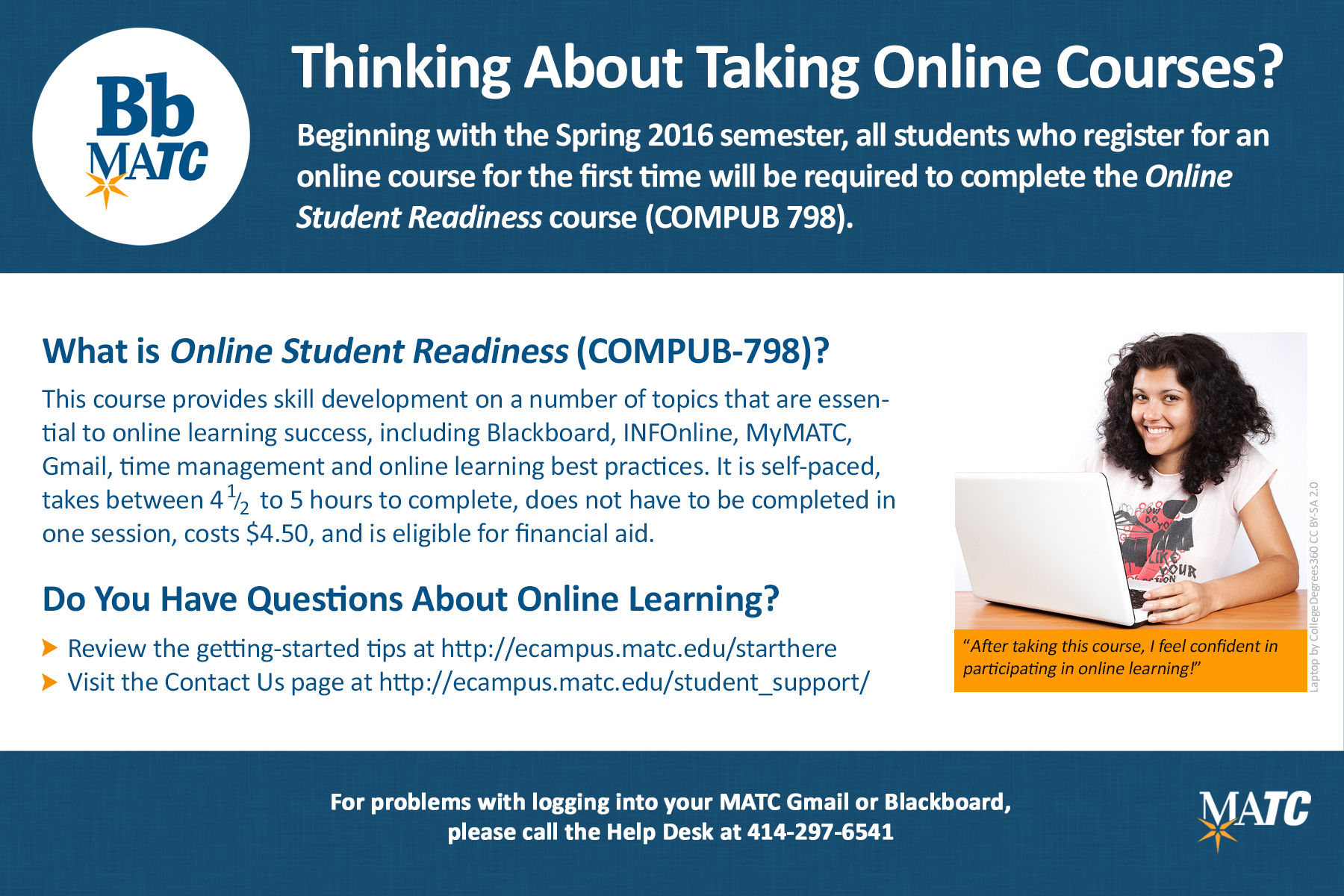 Worksheet It Online Learning Review milwaukee area technical college student support online learning this self paced course provides skill development on a number of topics that are essential to success the course